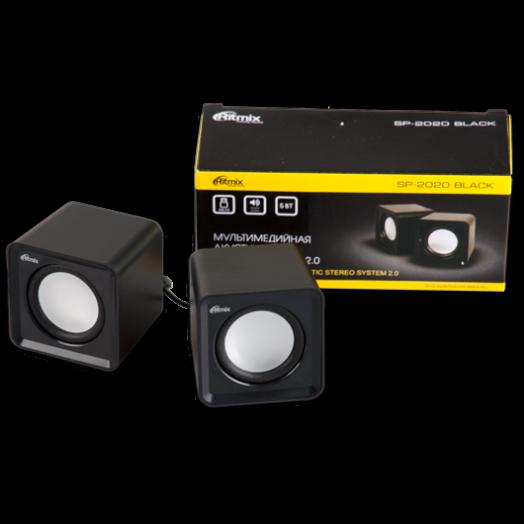 Мультимедийные колонки Ritmix SP-2020 Black
