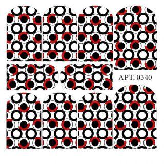 Слайдер-дизайн для ногтей № 0340