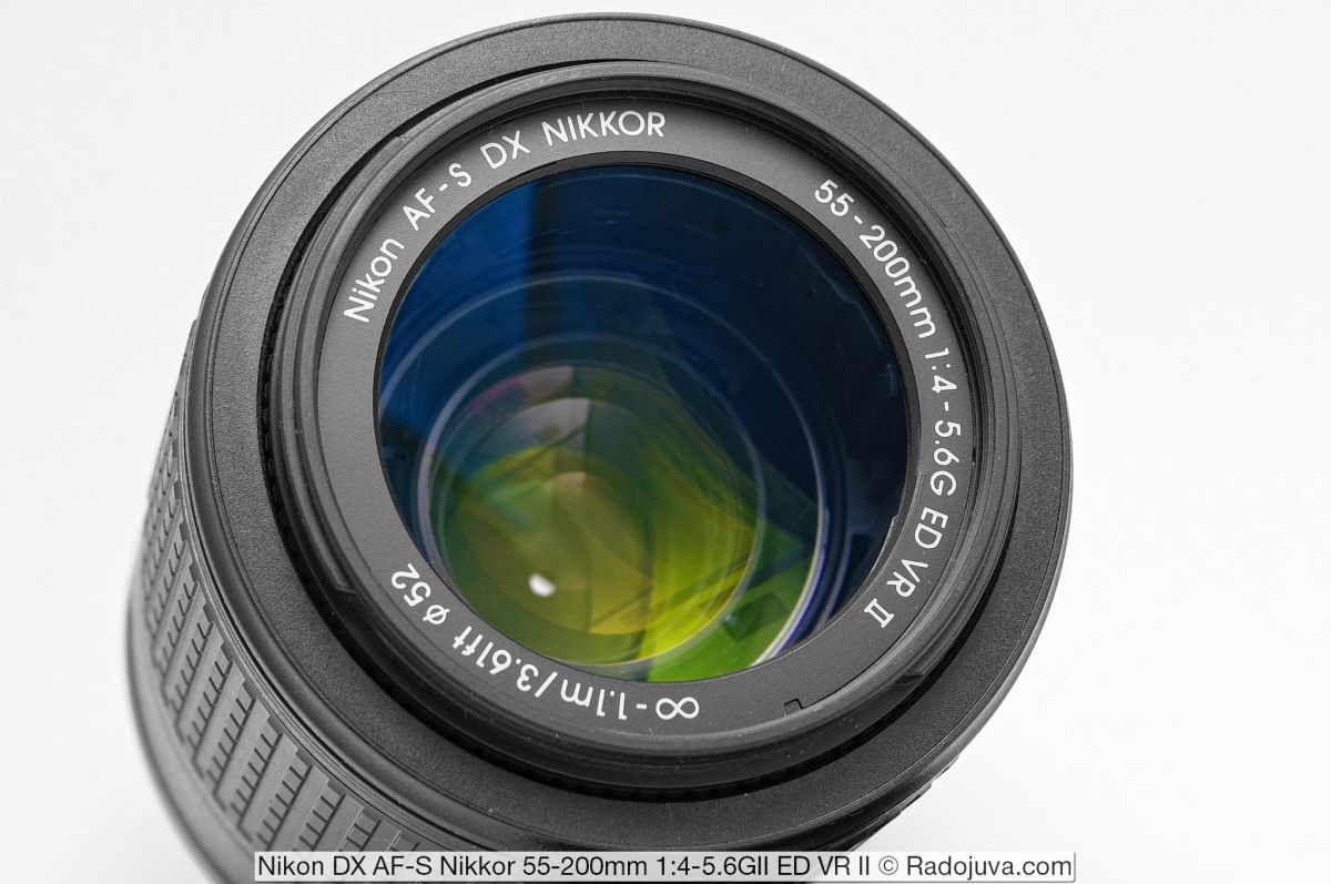 Nikon 55-200mm f/4-5.6G ED VR II AF-S DX Nikkor