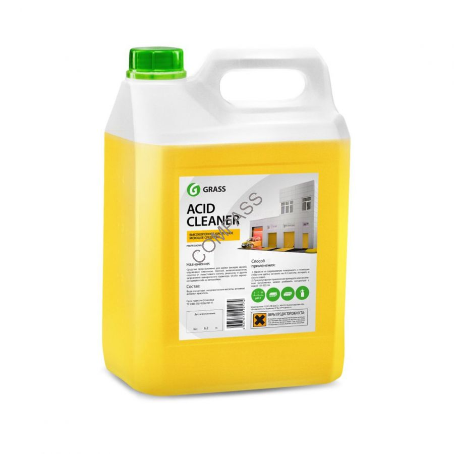 Моющее средство для очистки фасадов Acid Cleaner GRASS