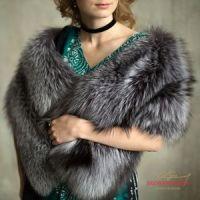 Меховой палантин из лисы купить пошив фото цены москва