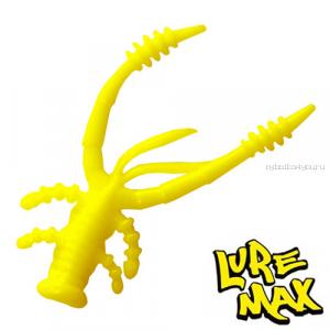 Мягкие приманки LureMax Voodoo Bug 2'' 50 мм / упаковка 10 шт / цвет: LSVB2-001 Chartreuse