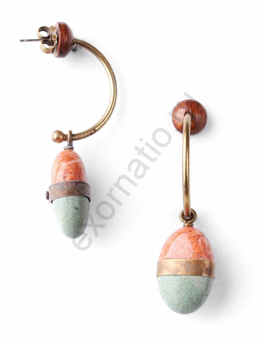 Серьги Nature Bijoux 12-76607. Коллекция Pebbles