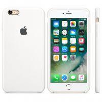 Силиконовый чехол Silicon Case для Apple iPhone 6/6S белый