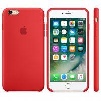 Чехол Silicon Case для iPhone 6S красный