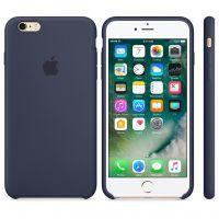 Силиконовый чехол Silicon Case для Apple iPhone 6/6S темно-синий