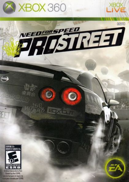 Игра Need for Speed: Pro Street (Xbox 360)