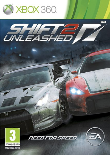 Игра Need for Speed: Shift 2 Unleashed (Xbox 360)