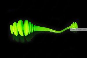 """Мягкие приманки Trout Baits Jara Kasper Worm 2,3"""" 60мм / упаковка 9 шт / (чеснок) цвет:K_023UV"""