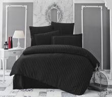 Постельное белье Бамбук PERLA евро (черный) Арт.814-2