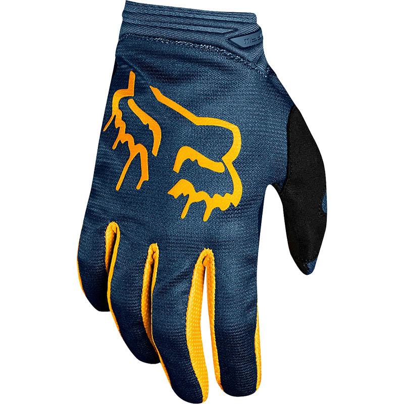 Fox - 2019 WMN Dirtpaw Mata Navy/Yellow перчатки женские, сине-желтые