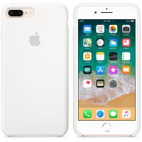 Чехол Silicon Case для iPhone 7 Plus белый