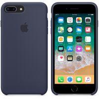 Чехол Silicon Case для iPhone 7 Plus темно-синий