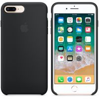 Чехол Silicon Case для iPhone 7 Plus черный