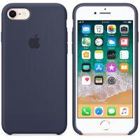 Чехол Silicon Case для iPhone 7 темно-синий
