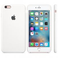 Чехол Silicon Case для iPhone 6S Plus белый