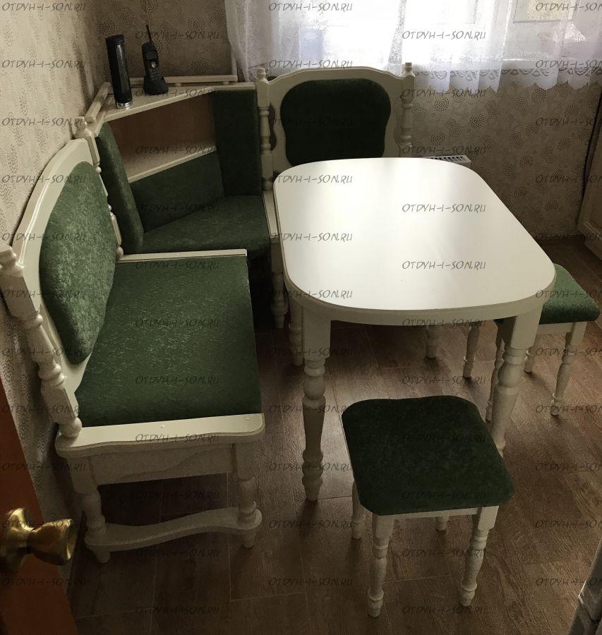 Кухонный уголок Картрайд с ящиком (ВМК Шале) 160х110х106 или любые Ваши размеры
