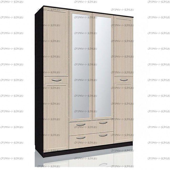 Шкаф комбинированный Браво НМ 013.08-02 (160х57х226)