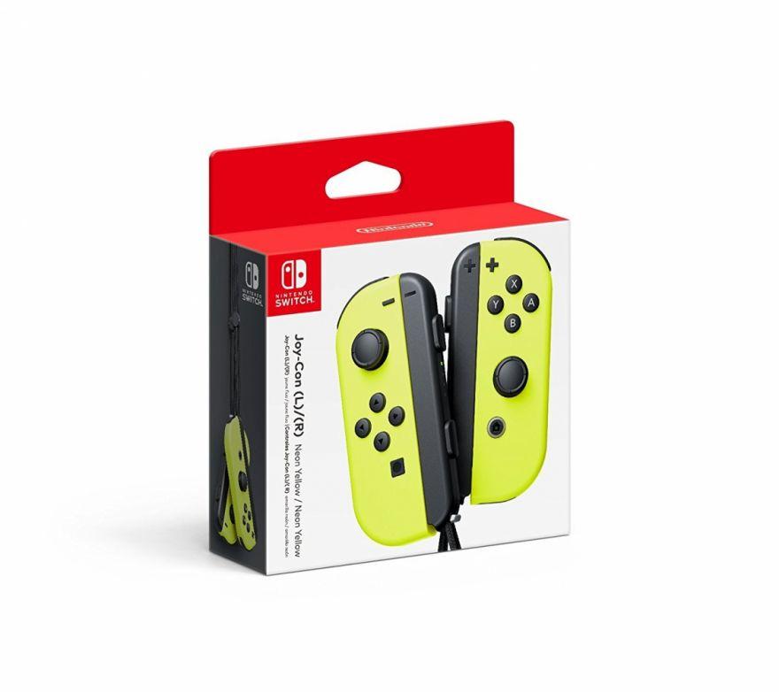Nintendo Joy-Con controllers (nintendo switch) жёлтые