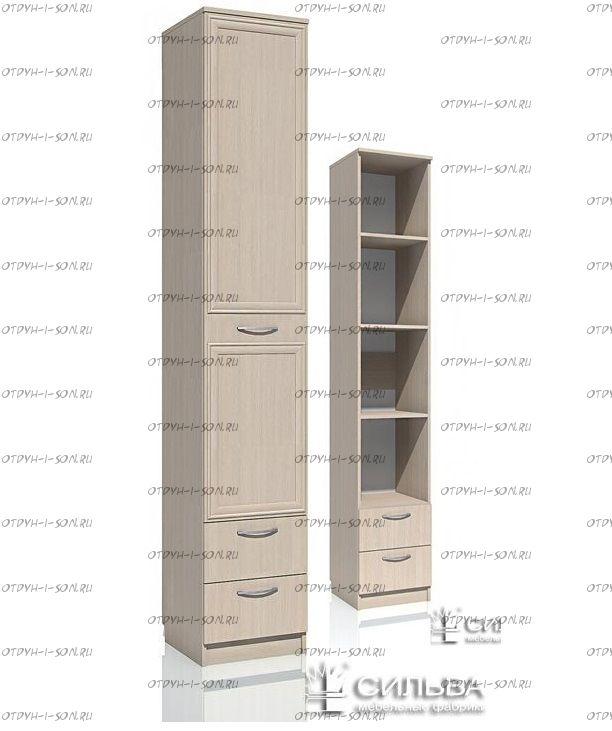 Шкаф-пенал Браво НМ 013.01-02 с ящиками (80х57х226)