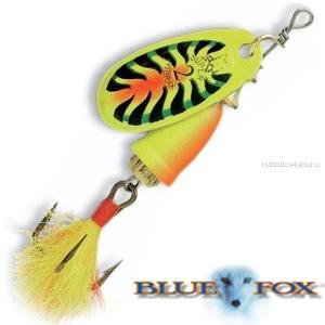 Купить Блесна вертушка Blue Fox Vibrax Foxtail N2 6 гр / цвет: FTX