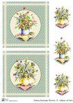 Декупажные карты Summer flower 11