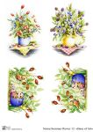 Декупажные карты Summer flower 12