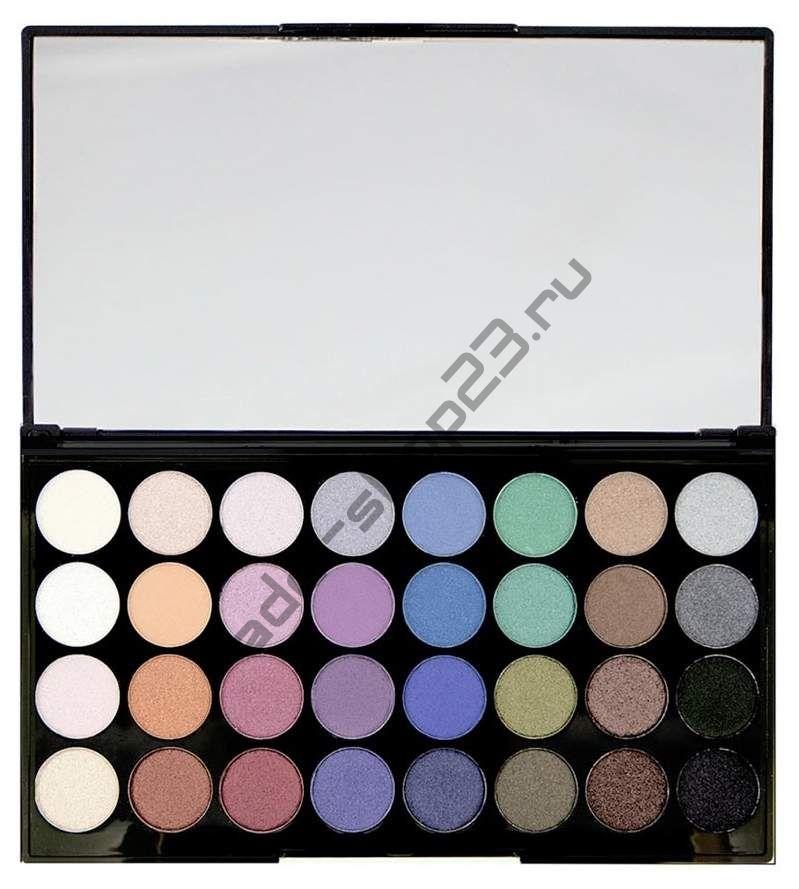 "MakeUp Revolution - Тени для век ""Ultra 32 Shade Eyeshadow Palette - Mermaids forever"""