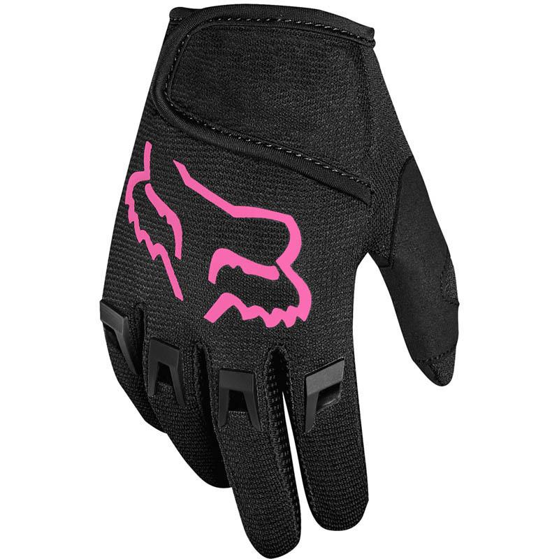Fox Dirtpaw Kids Black/Pink (2022) перчатки для мотокросса детские