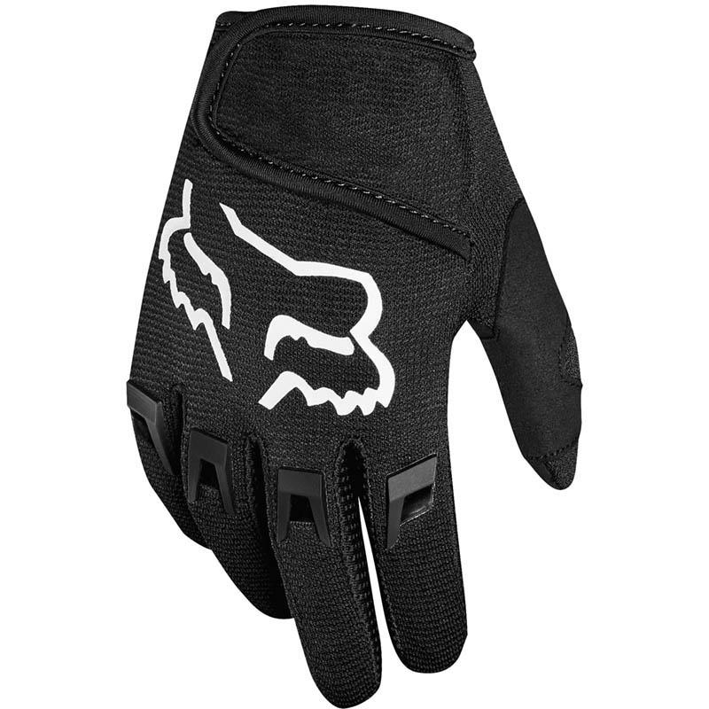 Fox - 2019 Kids Dirtpaw Black перчатки детские, черные