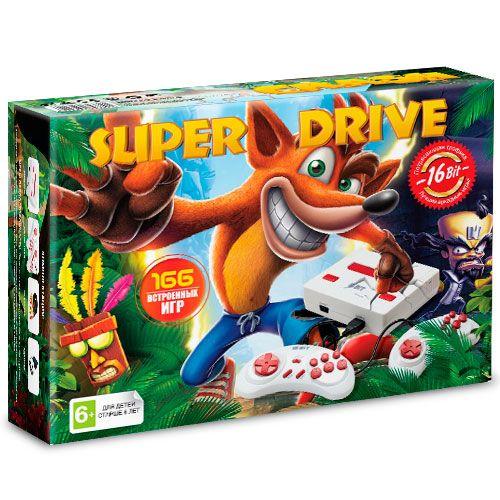 Sega Super Drive Crash (166-in-1) White