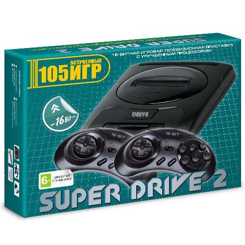 Sega Super Drive 2 Classic (105-in-1) Green