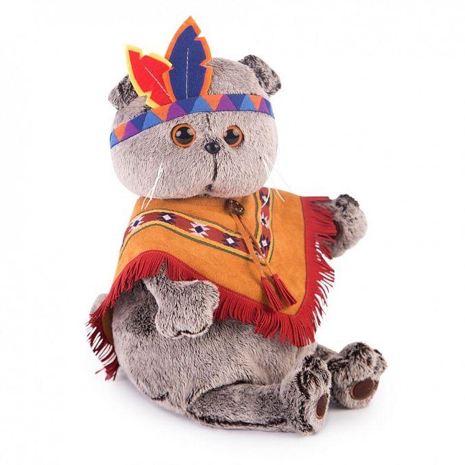 Кот Басик в костюме индейца KS22-070