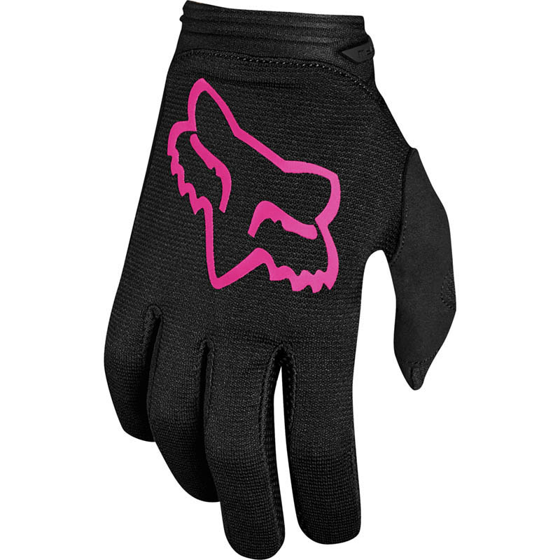 Fox - 2019 Dirtpaw Youth Girls Mata Black/Pink перчатки подростковые, черно-розовые