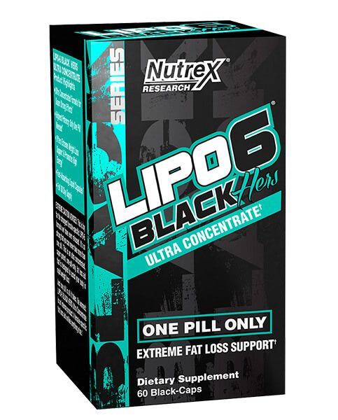 Nutrex - Lipo-6 Black Hers Ultra Concentrate