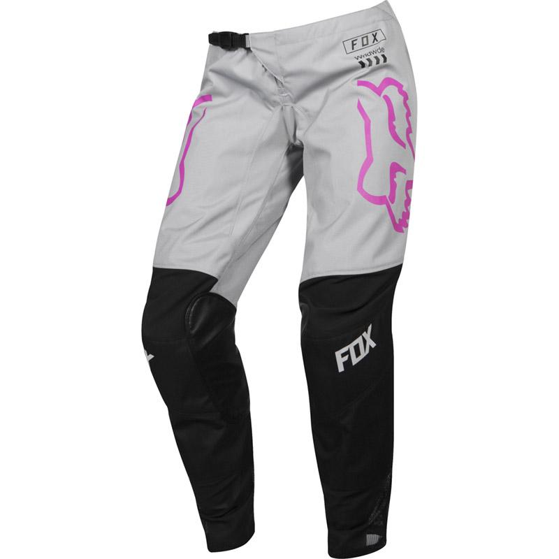 Fox - 2019 180 Youth Girls Mata Black/Pink штаны подростковые, черно-розовые