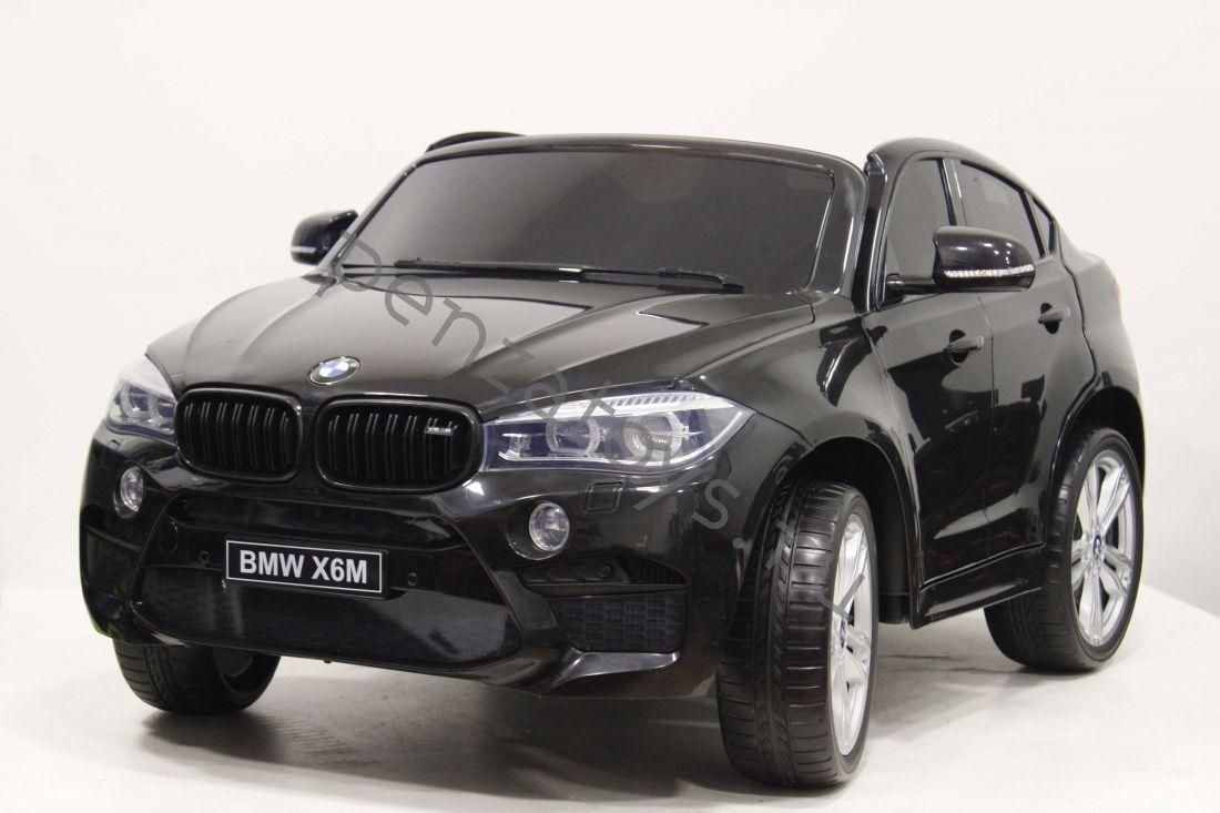 Детский Двухместный электромобиль BMW-X6-M-JJ2168 ЛИЦЕНЗИЯ