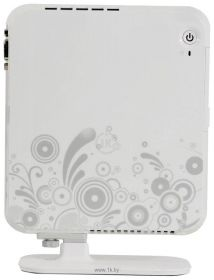 Неттоп 3Q Qoo! Sign ION (Atom D525 1.8GHz/ntel NM10/1xSO-DIMM DDR3 /NVIDIA ION/VGA/HDMI/Glan/WiFi/White) OEM