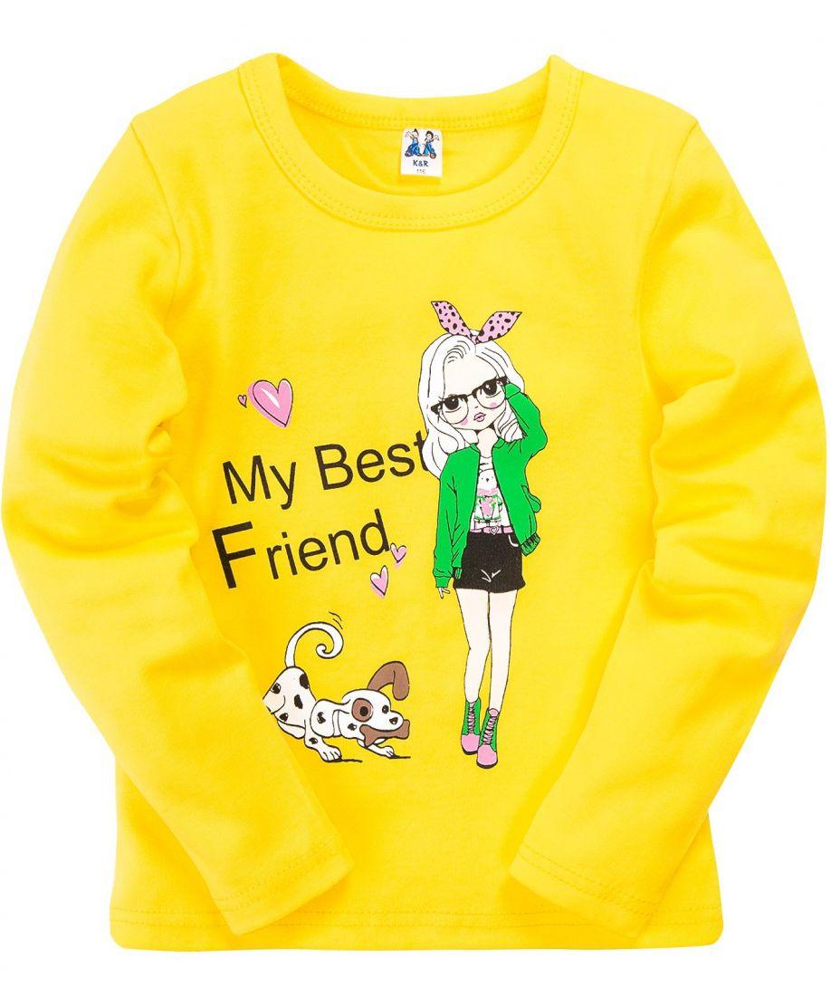 Джемпер для девочки Лучшая подруга