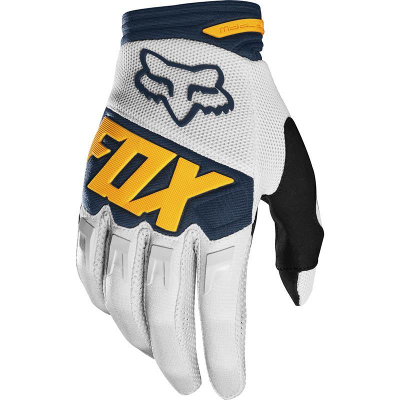 Fox - 2019 Dirtpaw Race Youth Light Grey перчатки подростковые, светло-серые