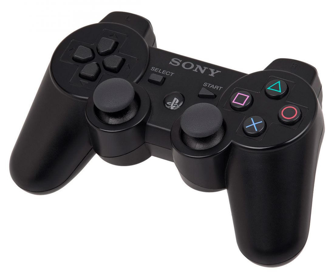 Sony Dualshock 3 Геймпад PS3 черный ОЕМ