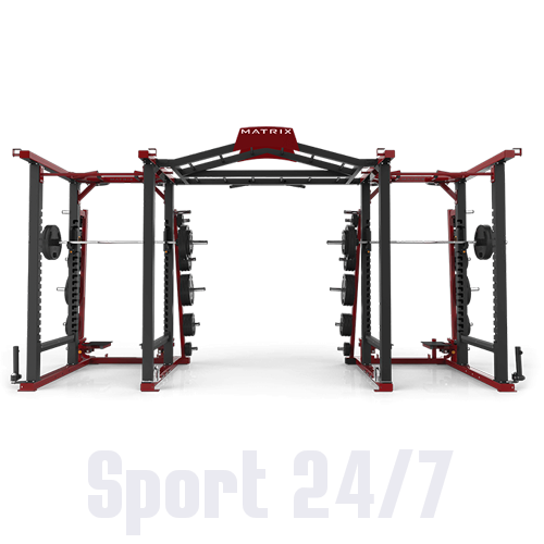 MATRIX MAGNUM MG-MR47x2 Силовая рама DOUBLE MEGA RACK