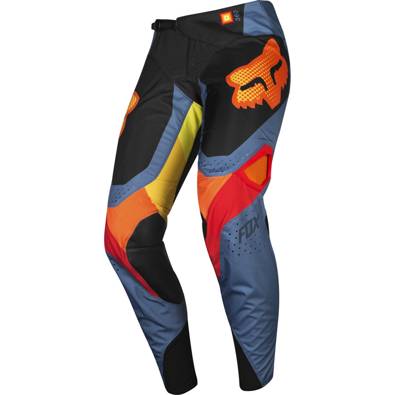Fox - 2019 360 Youth Murc Blue Steel штаны подростковые