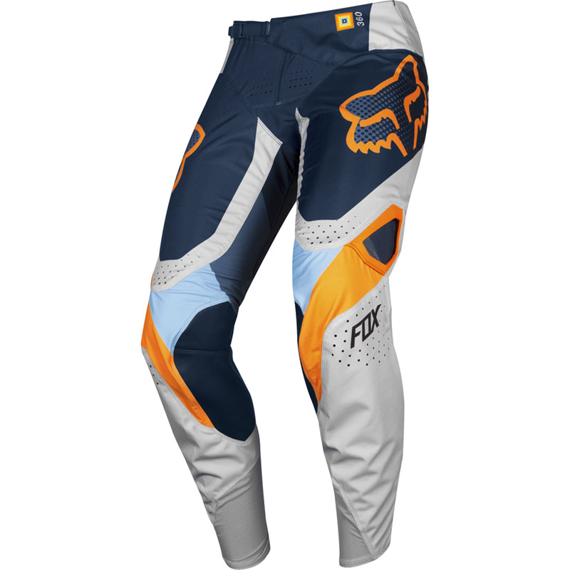 Fox 360 Youth Murc Lt Grey штаны подростковые