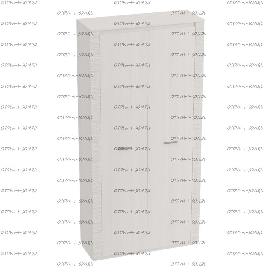 Шкаф 2-дверный Элана (Спальня) 101х65х219