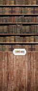 "Фон ""Books"" 3x1,5 (3,5x1,5 м)"