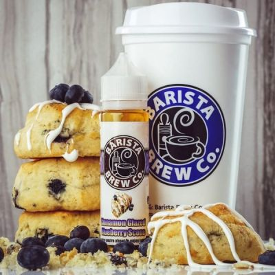 Barista Cinnamon Glazed Blueberry Scone