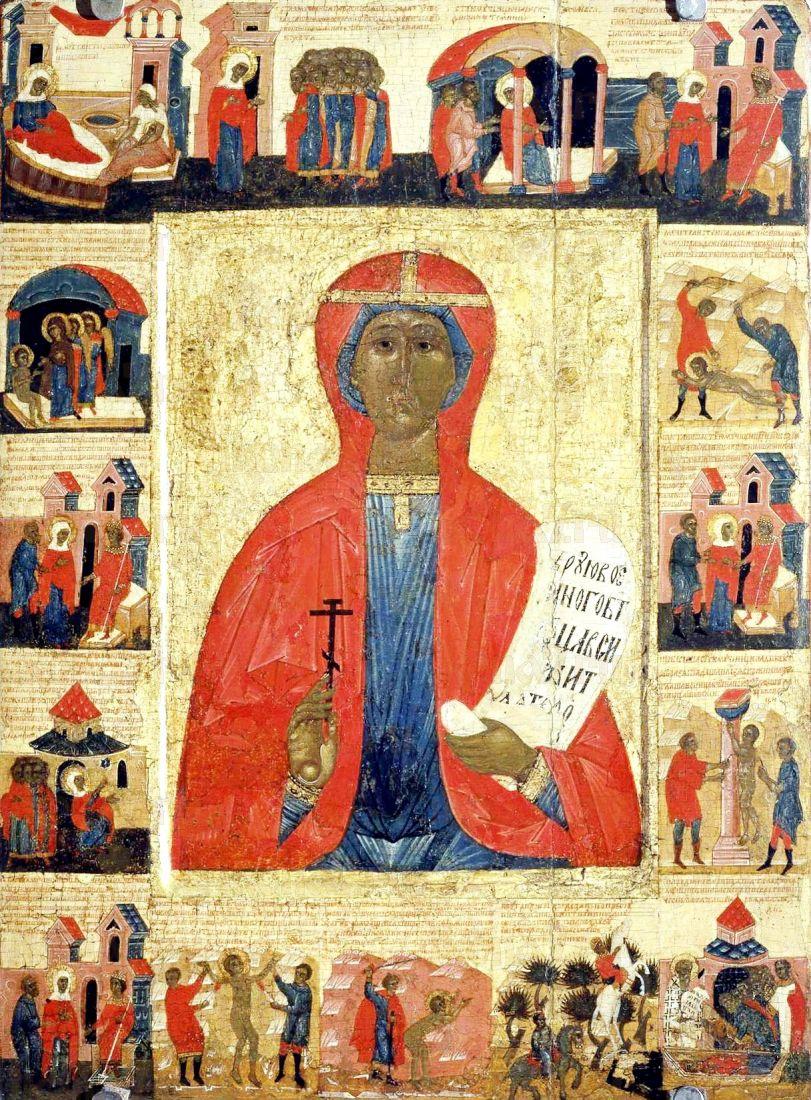 Параскева Пятница (копия старинной иконы)