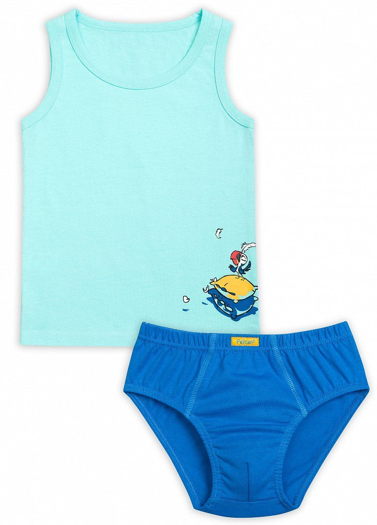 Комплект белья для мальчика 5 лет от Пеликана
