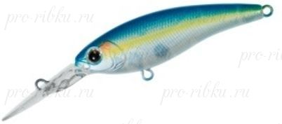 Воблер DAIWA STEEZ SHAD 54SP-MR / BLUE BACK SEXY (04801593)